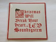 "LCD Soundsystem - Christmas Will Break You Heart 7"" NEW SS 2015 FREE SHIP US"