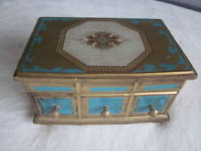 Vintage Ornate Wooden Jewelry/Music Box - Japan