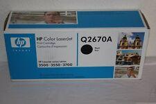 Original HP - Cartouche d'Impression - Q2670A Noir Pour HP LaserJet 3500 3550