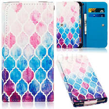 Newest Pattern Universal PU Leather Wallet Card Case Cover For LG Mobile Phones