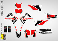 MX Graphics Stickers Kit Decals GasGas EC 2010-2011