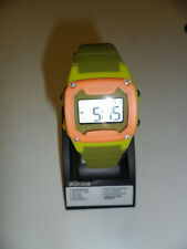 FREESTYLE KILLER SHARK Silicone Wrist Watch - Orange/Green - NWT