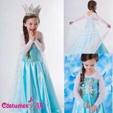Disney Frozen Dress Costumes for Girls