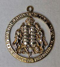 14k Gold Ten Commandments Star of David Pendant - 8.9 Grams