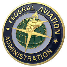 Federal Aviation Administration / FAA 24kt GP Challenge coin 1163#