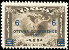 1932 Canada Mint H F+ Scott #C4 (C2 Surcharged) Air Mail Issue Stamp
