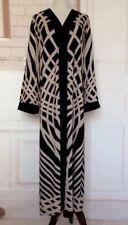 URBAN MODESTY Women's Caftan Islamic Abaya Muslim Robe Long Sleeve Maxi Dress XL