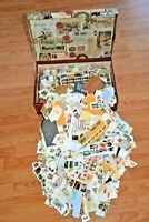 CatalinaStamps: Large Travel Box filled with 8 Lbs. of US On-Paper Stamps