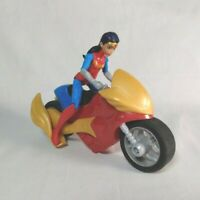 Mattel DC Super Hero Girls WONDER WOMAN Action Figure + Motorcycle Bike 2016
