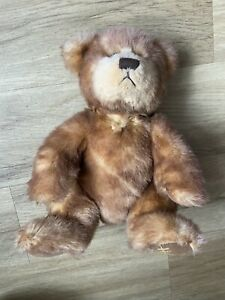 Harrods Brown Plush Stuffed Teddy Bear Soft Toy With Harrods foot