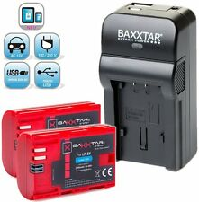 Baxxtar RAZER 600 5in1 Ladegerät + 2x Baxxtar Akku für Canon LP-E6 (mit 2000mAh)