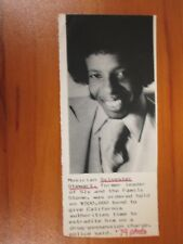 Vtg AP Wire Press Photo Musician Sylvester Stewart, Sly & The Family Stone #2