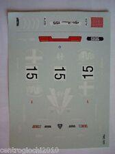 DECALS KIT 1/43 ALFA ROMEO ALFA ROMEO 155 D2 1993 ALESI N.15