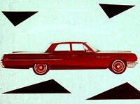 1963 Buick Dealer Promo 4 Door Model Cars Film CD MP4 Format