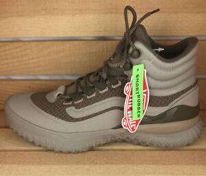 VANS City Hi Rise Boots/Shoes Mens Sz 6.5, Womens 8 Walnut Pure, Tan VN0A54G32B5