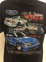 T-Shirt w/ Ford Fox Body Mustang 5.0