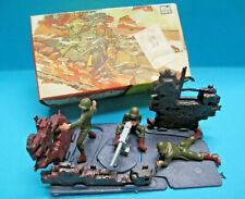 BRITAINS LTD MINI SET 1071 1/42 WWII US ARMY MACHINE GUN CREW TOY SOLDIERS VNMIB