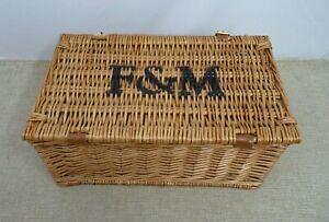 Fortnum & Mason Hamper basket - Small Picnic   Thames Hospice