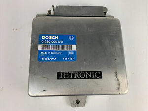 1986-1989 VOLVO 740/760/780 TURBO ECU ECM -  BOSCH 0280000541 - VOLVO 1367487