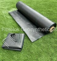 Heavy Duty Weed Control Fabric Membrane Garden Ground Cover Landscape 100GSM