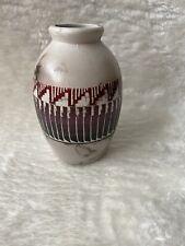 Southwestern Bud Vase Art Pottery Signed