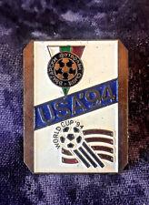 World Cup Soccer Football '94 USA Bulgaria Team Flag Logo Souvenir Pin