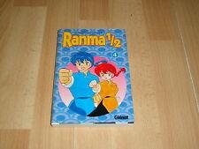RANMA 1/2 DE RUMIKO TAKAHASHI MANGA COMIC NUMERO 4 DEL AÑO 2002 EN BUEN ESTADO