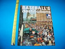 "Baseball  ""Baseball's Destinations""   MLB Insiders Club Book   2010"