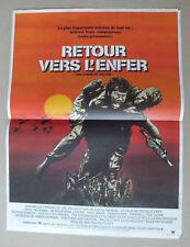 AFFICHETTE DE CINEMA 55 X 40 DU FILM RETOUR VERS L ENFER DE TED KOTCHEFF - 17