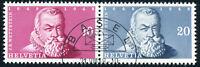 SCHWEIZ 1948, MiNr. 512-513 aus Block 13, schön gestempelt mit ESST, Mi. 70,-