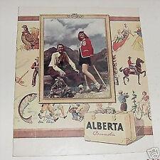 Canada Alberta Vacations  vintage Travel Booklet c. 1950