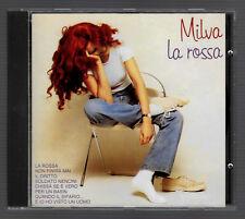 """MILVA """"LA ROSSA"""" CD FUORI CATALOGO SERIE ORIZZONTE - COME NUOVO - MAI RISTAMPATO"""