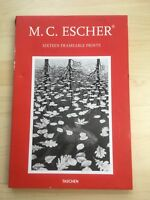M.C. Escher Sixteen (16) Frameable Prints- Box Set Taschen Metro Books New York