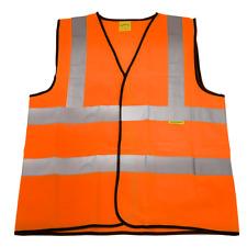 Sealey Worksafe Hi-Vis Orange Waistcoat (Site and Road Use) - Large -9812l