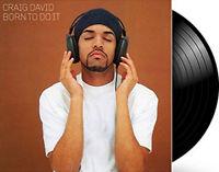 """Craig David : Born to Do It VINYL 12"""" Album 2 discs (2018) ***NEW*** Great Value"""
