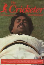 THE CRICKETER INTERNATIONAL MAGAZINE 1982 - ALL ISSUES COMPLETE EXCEPT JUNE