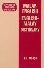 Malay-English - English-Malay Standard Dictionary by A. E. Coope (1993,...