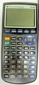 Texas Instruments TI-83 Plus Scientific Calculator FOR PARTS-NOT WORKING