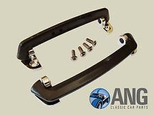 MG MIDGET,SPRITE, MGB,MGB-GT, MGC INTERIOR DOOR PULL HANDLES & SCREWS x 2 GLZ118