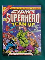 Giant Superhero Team-Up 1976 Marvel Treasury #9 -  FN/VF(7.0) - White Pages