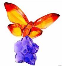 SWAROVSKI BUTTERFLY ON FLOWER RETIRED 2018 MIB #5374943