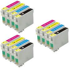12 tintas para EPSON C64 C66 C84 C86 CX3600 CX3650 CX4600 CX6400 CX6600