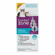 Comfort Zone MultiCat Calming Diffuser Refills for Cats and Kittens