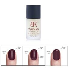 BK Magic Super Matte Nail Polish Top Coat Frosted Surface Oil Nail Art Beauty