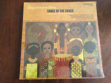 Sing Children: Songs Of The Congo Sung By Children Caedmon TC 1644 sealed LP