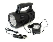 1 MILLION CANDLE POWER RECHARGEABLE LED SPOTLIGHT TORCH 1,000,000 FLASHLIGHT