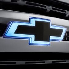 2019 Silverado 1500 Next Gen Front Illuminated Black Bowtie Emblem Kit 84069488