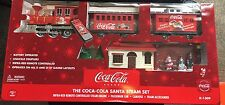 COCA COLA K-LINE K-1309 SANTA STEAM TRAIN SET REMOTE CONTROLLED NEVER OPENED NEW