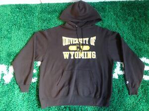 Vintage 90'S University Wyoming Cowboy Champion Crewneck Sweatshirt NCAA SZ XL