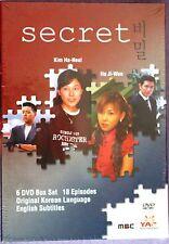 Secret YA Entertainment Korean Drama Box Set R1 NR US Version DVD